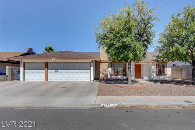 4750 Walteta Way, Las Vegas, NV 89119 (MLS #2303746) :: Jeffrey Sabel
