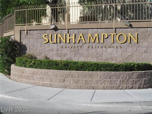 3637 Ian Thomas Street #105, Las Vegas, NV 89129 (MLS #2303943) :: Galindo Group Real Estate