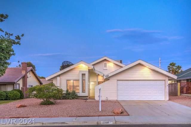 2360 Aqua Vista Avenue, Henderson, NV 89014 (MLS #2304074) :: Signature Real Estate Group