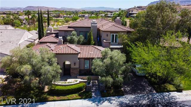11635 Evergreen Creek Lane, Las Vegas, NV 89135 (MLS #2304355) :: Jeffrey Sabel