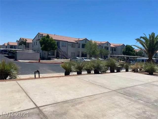 3318 N Decatur Boulevard #1123, Las Vegas, NV 89130 (MLS #2304383) :: Lindstrom Radcliffe Group