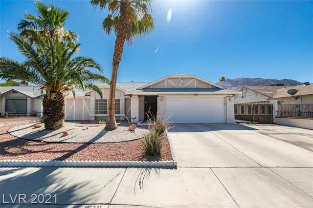 1670 Rolling Hills Drive, Las Vegas, NV 89156 (MLS #2304398) :: Lindstrom Radcliffe Group