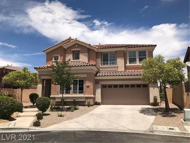 548 El Loro Street, Las Vegas, NV 89138 (MLS #2304447) :: Jeffrey Sabel