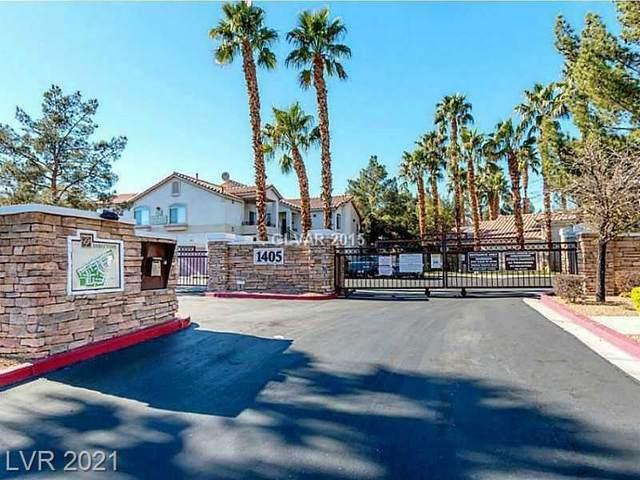 1300 S Arlington Street #123, Las Vegas, NV 89104 (MLS #2304469) :: Lindstrom Radcliffe Group