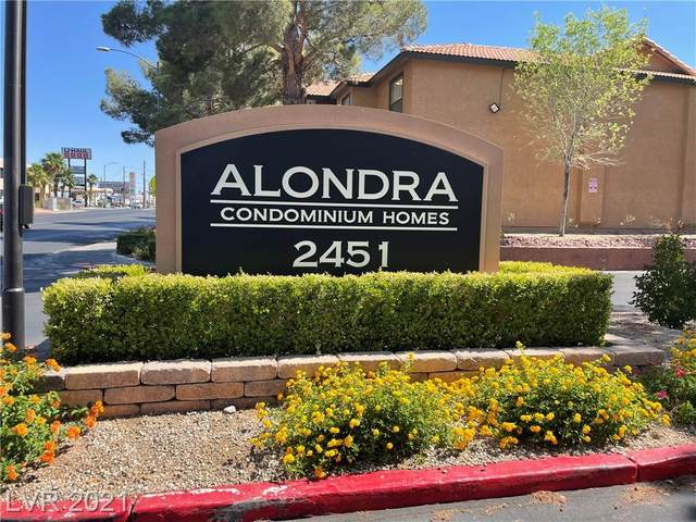 2451 N Rainbow Boulevard #1049, Las Vegas, NV 89108 (MLS #2304484) :: Lindstrom Radcliffe Group