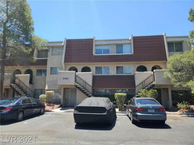 3561 Arville Street 803B, Las Vegas, NV 89103 (MLS #2304573) :: Jeffrey Sabel