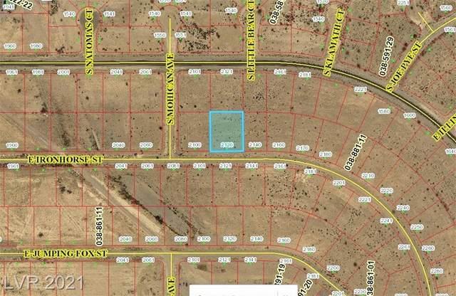 2120 E Ironhorse St Street, Pahrump, NV 89101 (MLS #2304623) :: Jack Greenberg Group