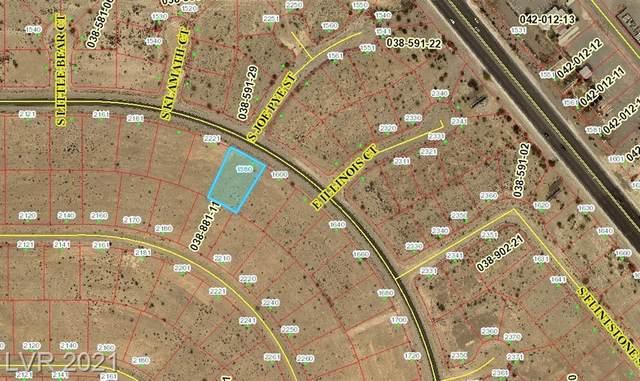 1580 E Honeysuckle Street, Pahrump, NV 89048 (MLS #2304626) :: Jack Greenberg Group