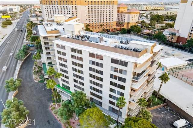 205 E Harmon Avenue #1012, Las Vegas, NV 89169 (MLS #2304804) :: Custom Fit Real Estate Group