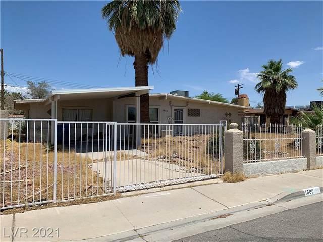 1660 Vegas Valley Drive, Las Vegas, NV 89169 (MLS #2304916) :: Hebert Group | Realty One Group