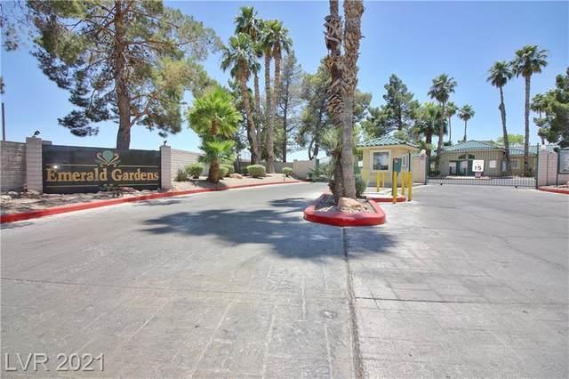 1421 Linnbaker Lane #101, Las Vegas, NV 89110 (MLS #2305033) :: DT Real Estate