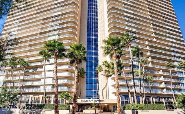 3111 Bel Air Drive 27D, Las Vegas, NV 89109 (MLS #2305242) :: DT Real Estate