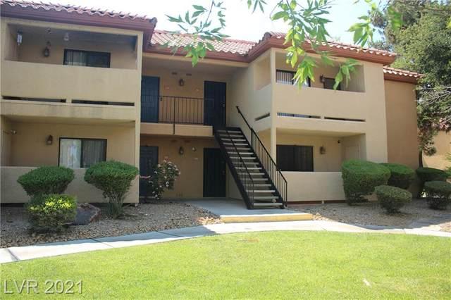 3135 S Mojave Road #256, Las Vegas, NV 89121 (MLS #2305349) :: DT Real Estate