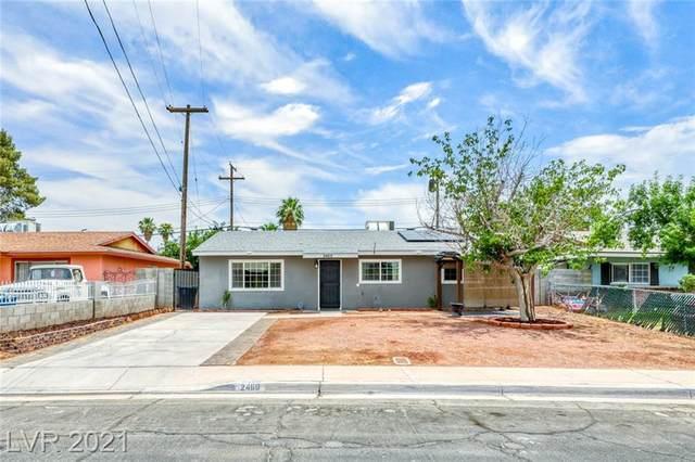 2460 San Marcos Street, Las Vegas, NV 89115 (MLS #2305414) :: Lindstrom Radcliffe Group