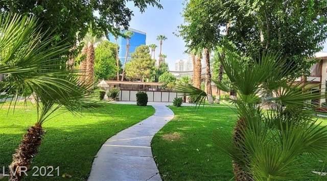 350 E Desert Inn Road F204, Las Vegas, NV 89109 (MLS #2305588) :: Galindo Group Real Estate