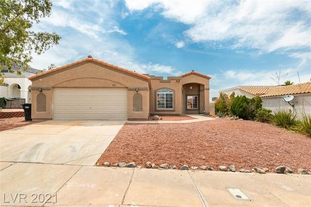472 Tiger Lily Way, Henderson, NV 89015 (MLS #2305648) :: Hebert Group | Realty One Group