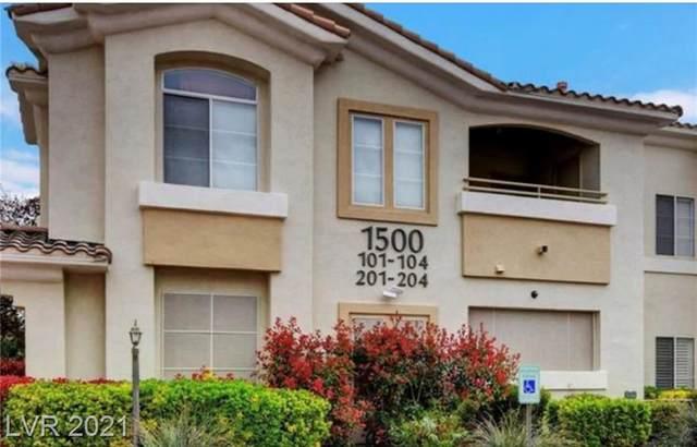 1500 Ruby Cliffs Lane #202, Las Vegas, NV 89144 (MLS #2305776) :: Vestuto Realty Group