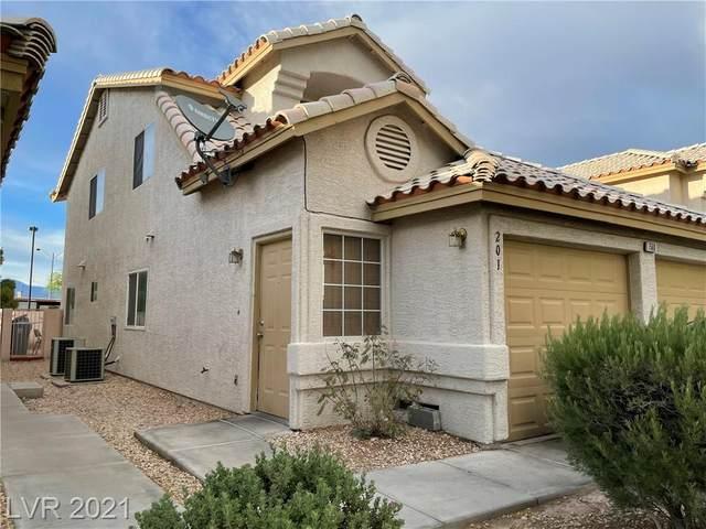7568 Durham Hall Avenue #201, Las Vegas, NV 89130 (MLS #2305811) :: Galindo Group Real Estate