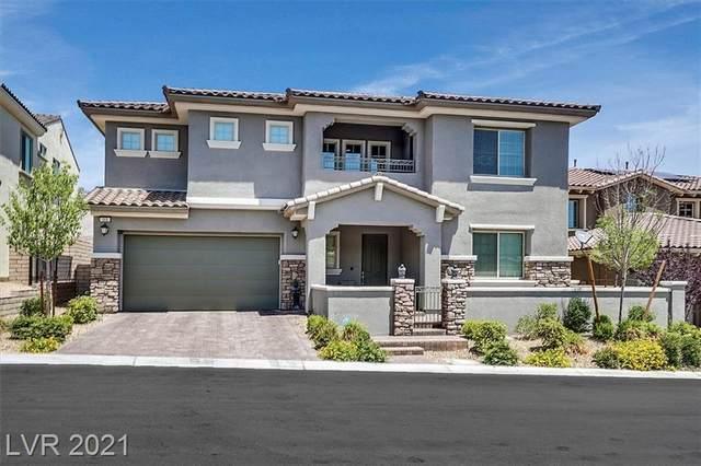 181 Elder View Drive, Las Vegas, NV 89138 (MLS #2305880) :: The Perna Group