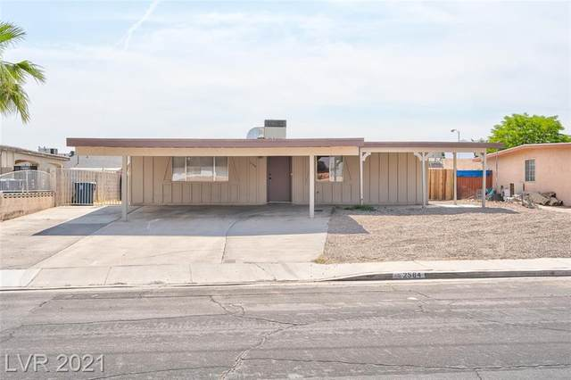2584 San Marcos Street, Las Vegas, NV 89115 (MLS #2305946) :: Kypreos Team