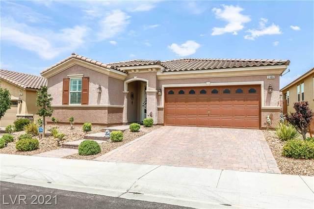 2486 Fanano Street, Henderson, NV 89044 (MLS #2306158) :: Signature Real Estate Group