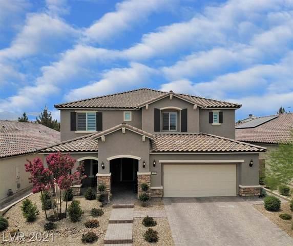 8403 Aspen Skye Street, Las Vegas, NV 89166 (MLS #2306195) :: Signature Real Estate Group