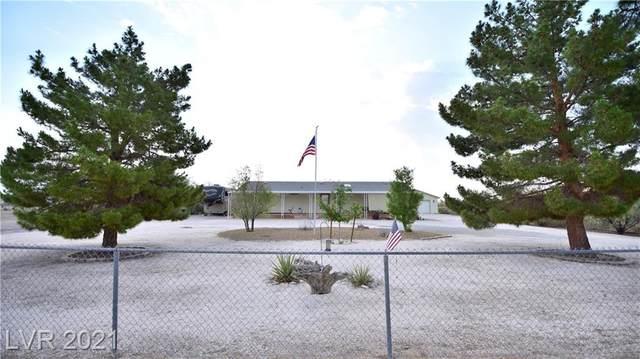 1801 Meier Drive, Pahrump, NV 89048 (MLS #2306407) :: Galindo Group Real Estate