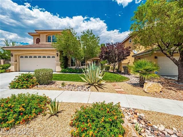 10398 Starthistle Lane, Las Vegas, NV 89135 (MLS #2306531) :: Galindo Group Real Estate