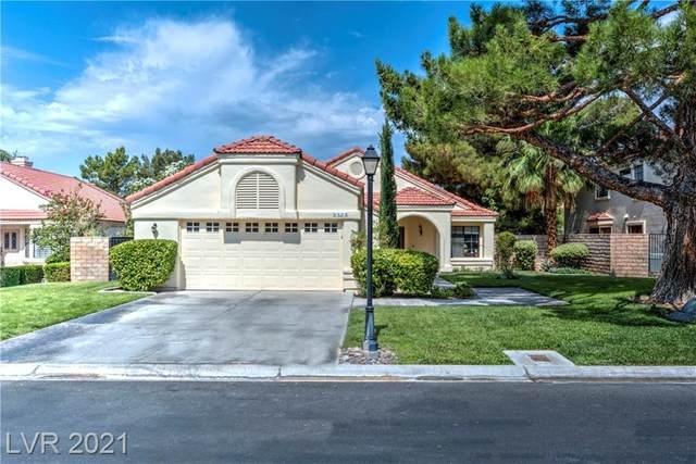 5433 Painted Sunrise Drive, Las Vegas, NV 89149 (MLS #2306576) :: Signature Real Estate Group