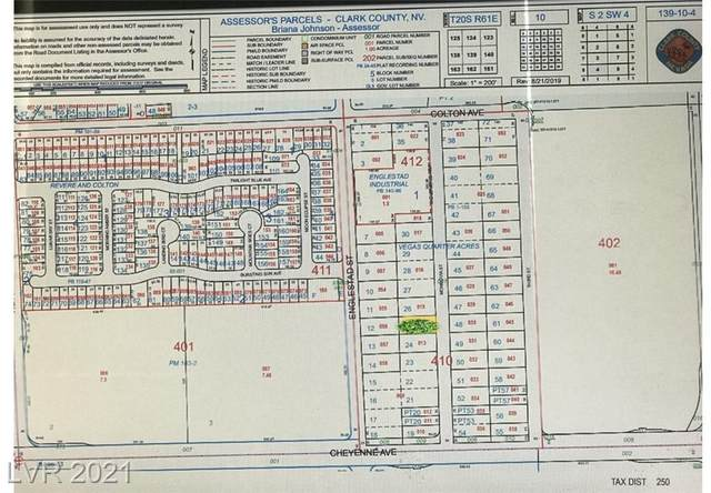 0 Cheyenne & Englestad, North Las Vegas, NV 89030 (MLS #2307171) :: ERA Brokers Consolidated / Sherman Group