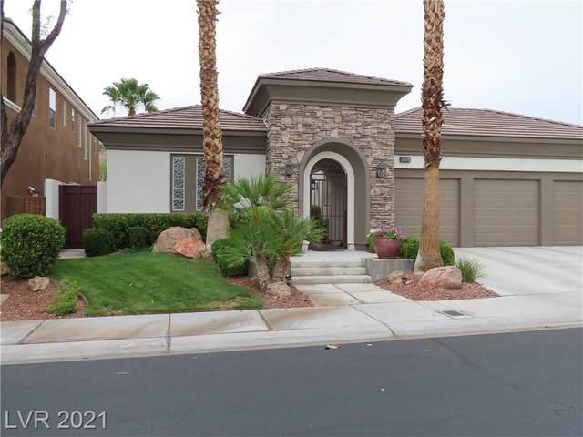 2671 Turtle Head Peak Drive, Las Vegas, NV 89135 (MLS #2307259) :: Jack Greenberg Group