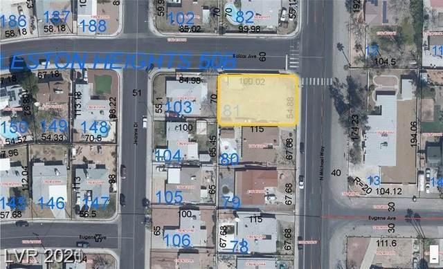 2213 N Michael Way, Las Vegas, NV 89108 (MLS #2307499) :: Keller Williams Realty