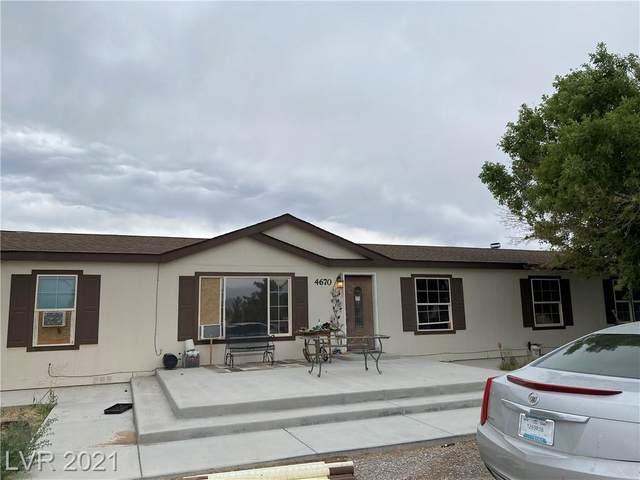 4670 Jackie Street, Pahrump, NV 89048 (MLS #2307583) :: Custom Fit Real Estate Group