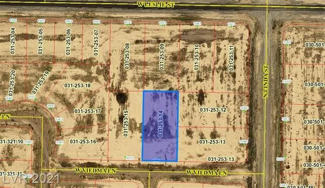 1050 Viedma Lane, Pahrump, NV 89060 (MLS #2307616) :: Lindstrom Radcliffe Group