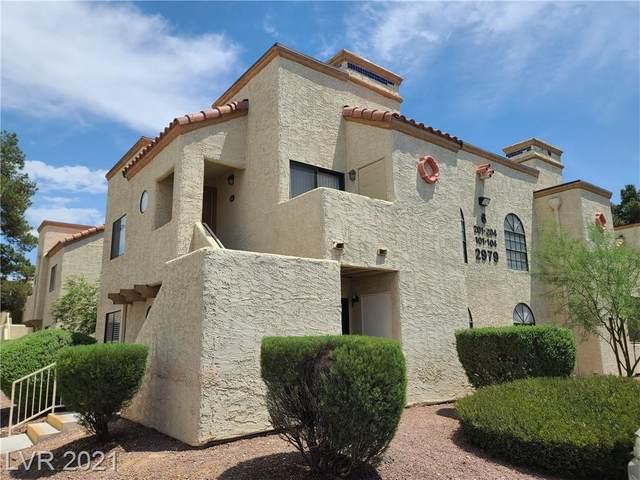2979 Juniper Hills Boulevard #202, Las Vegas, NV 89142 (MLS #2307673) :: The Shear Team