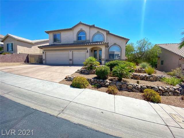 690 Vortex Avenue, Henderson, NV 89002 (MLS #2307806) :: Custom Fit Real Estate Group