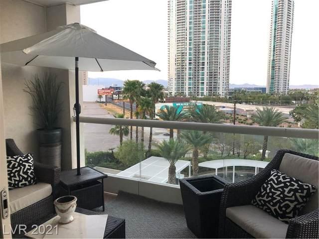2777 Paradise Road #408, Las Vegas, NV 89109 (MLS #2308173) :: Custom Fit Real Estate Group