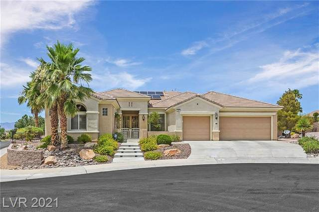 2854 Scotts Valley Drive, Henderson, NV 89052 (MLS #2308602) :: Custom Fit Real Estate Group