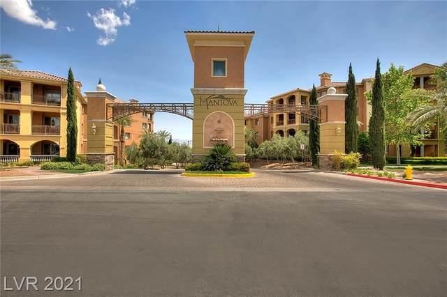 30 Via Mantova #202, Henderson, NV 89011 (MLS #2309101) :: Galindo Group Real Estate