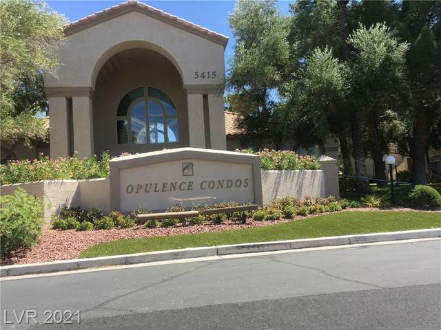 5415 W Harmon Avenue #1113, Las Vegas, NV 89103 (MLS #2309353) :: The Chris Binney Group | eXp Realty