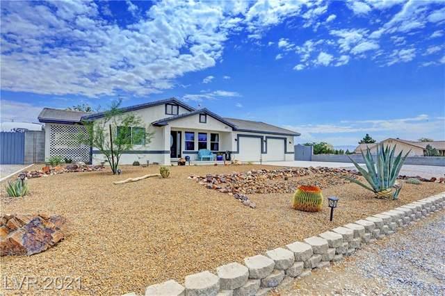 5821 E Bridger Street, Pahrump, NV 89061 (MLS #2309828) :: Custom Fit Real Estate Group