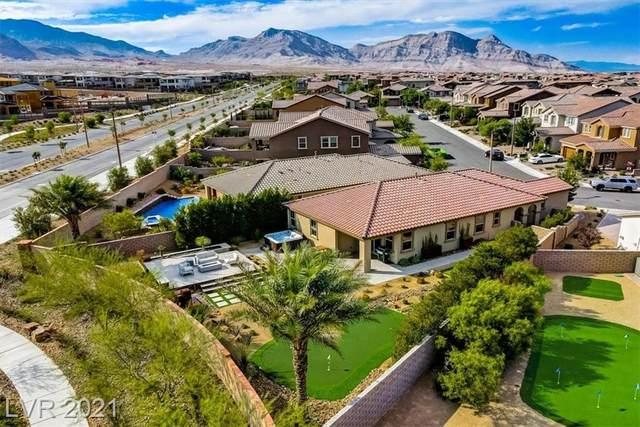 485 Cabral Peak Street, Las Vegas, NV 89138 (MLS #2311568) :: Lindstrom Radcliffe Group