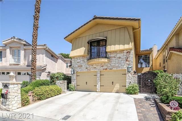 2863 Queens Courtyard Drive, Las Vegas, NV 89109 (MLS #2312094) :: Lindstrom Radcliffe Group