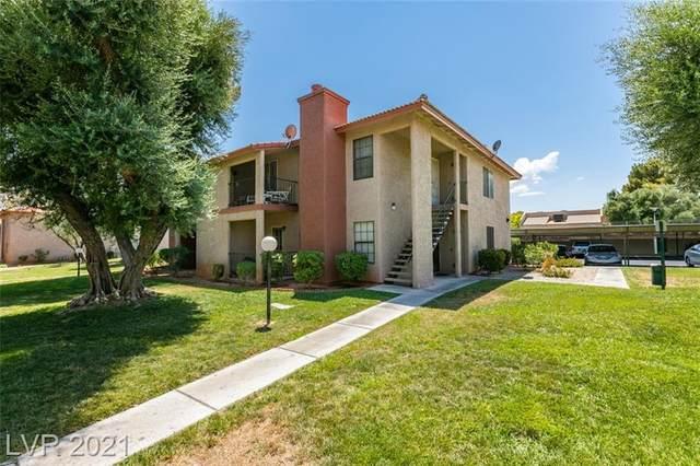 5576 W Rochelle Avenue 24C, Las Vegas, NV 89103 (MLS #2312530) :: Lindstrom Radcliffe Group