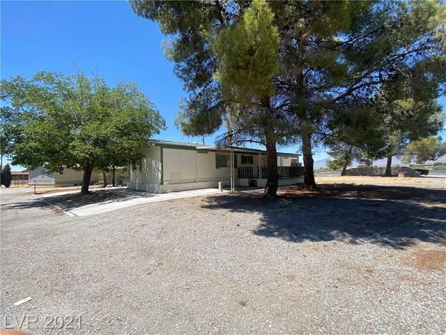 180 W Comstock Circle, Pahrump, NV 89048 (MLS #2312619) :: The Chris Binney Group   eXp Realty