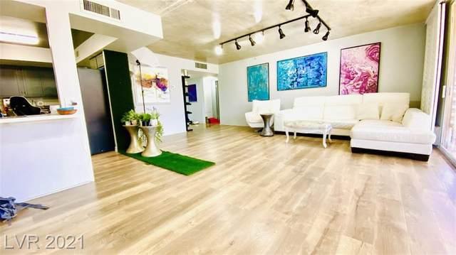 205 Harmon Avenue #1009, Las Vegas, NV 89169 (MLS #2312996) :: Custom Fit Real Estate Group