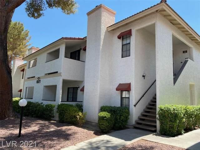 6671 W Tropicana Avenue #104, Las Vegas, NV 89103 (MLS #2313119) :: Lindstrom Radcliffe Group