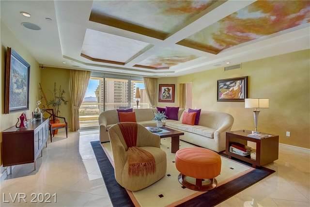 2747 Paradise Road #1403, Las Vegas, NV 89109 (MLS #2313134) :: Coldwell Banker Premier Realty