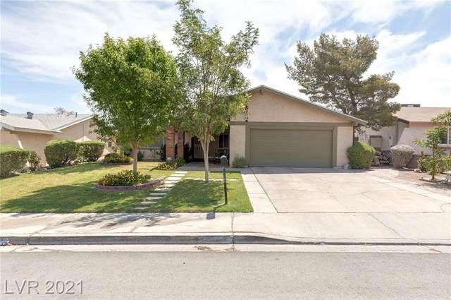 604 Hidden Valley Drive, Henderson, NV 89002 (MLS #2313139) :: Keller Williams Realty