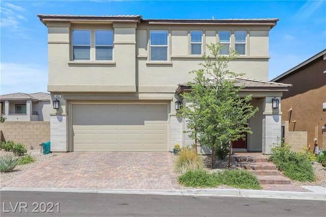 848 Haven Oaks Place, Las Vegas, NV 89138 (MLS #2313165) :: The Shear Team